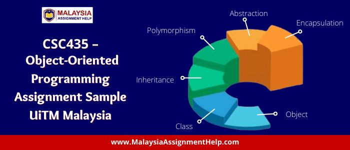CSC435 - Object-Oriented Programming Assignment Sample UiTM Malaysia